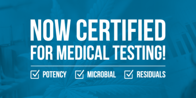 certified for medical marijuana testing