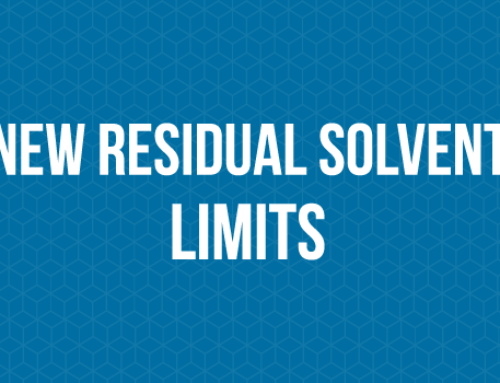 New Residual Solvent Limits