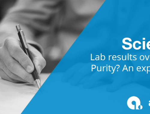 Lab Results over 100% Purity
