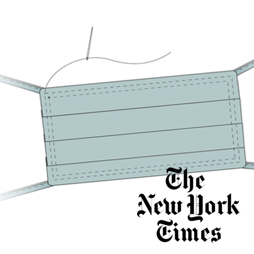 NY Times - How to make a face mask